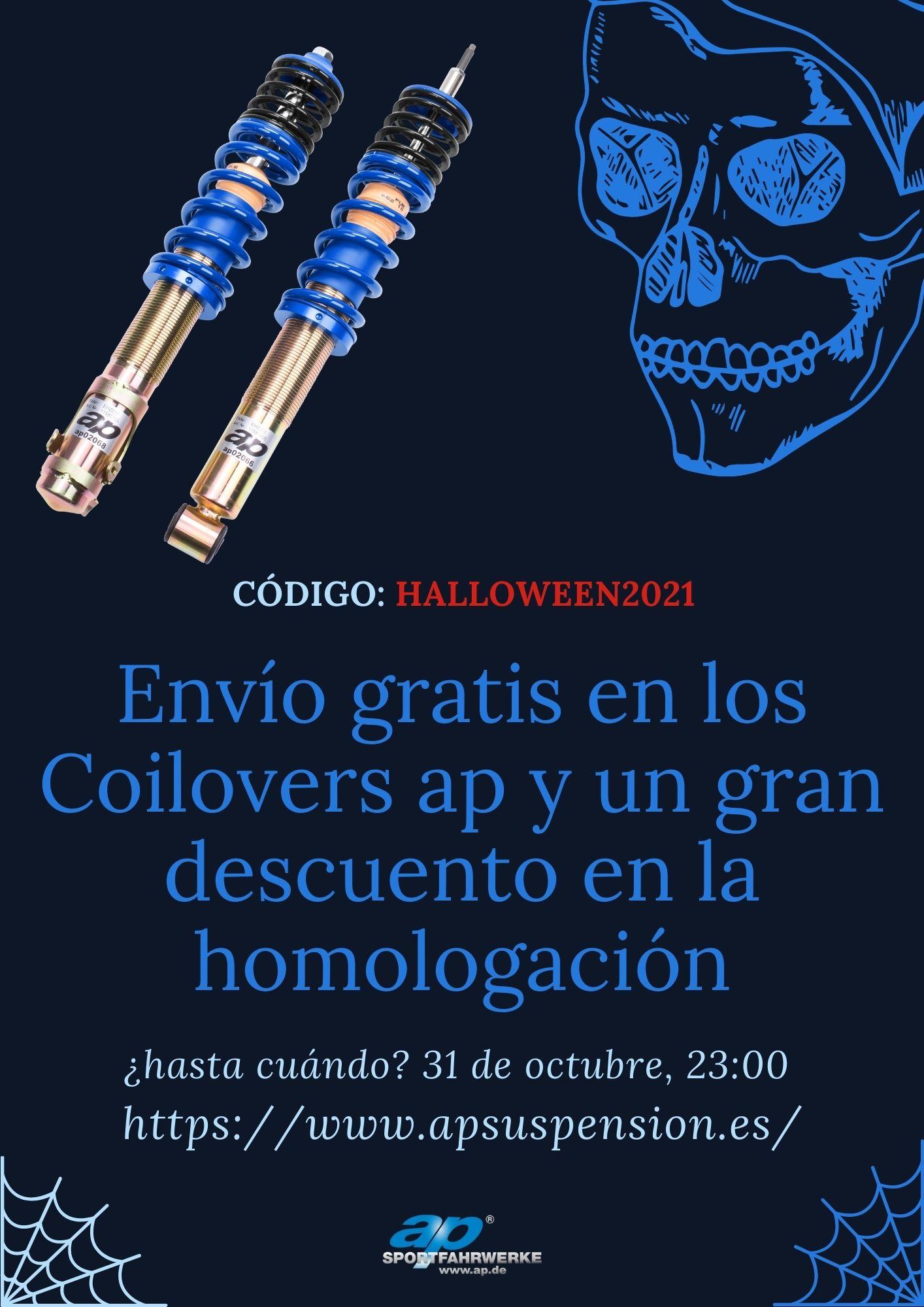 oferta halloween 2021 apsuspension.es